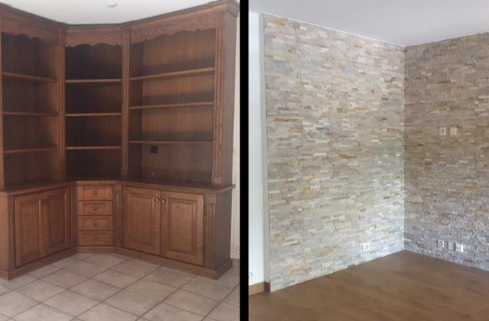 Rénovation appartement 3,5 pces à Gravelone